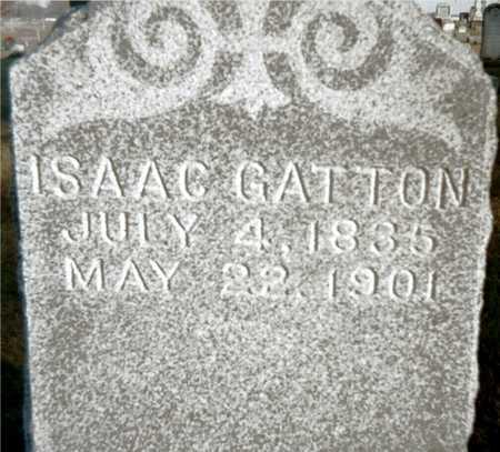 GATTON, ISAAC - Muscatine County, Iowa | ISAAC GATTON