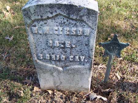 GIBSON, W.W. - Muscatine County, Iowa   W.W. GIBSON