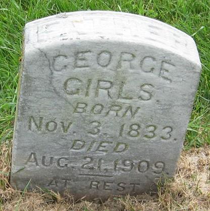 GIRLS, GEORGE - Muscatine County, Iowa | GEORGE GIRLS