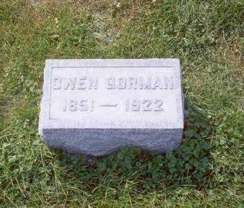 GORMAN, OWEN - Muscatine County, Iowa | OWEN GORMAN