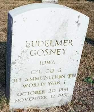 GOSNEY, EUDELMER - Muscatine County, Iowa | EUDELMER GOSNEY