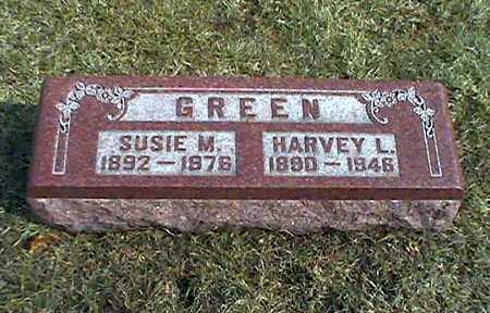 GREEN, SUSIE - Muscatine County, Iowa | SUSIE GREEN