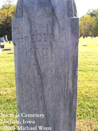 HACKE, FREDERICK - Muscatine County, Iowa | FREDERICK HACKE