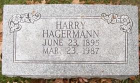 HAGERMANN, HARRY HAROLD - Muscatine County, Iowa   HARRY HAROLD HAGERMANN