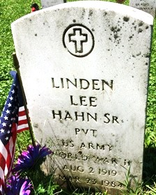 HAHN, LINDEN LEE, SR. - Muscatine County, Iowa | LINDEN LEE, SR. HAHN
