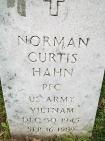 HAHN, NORMAN CURTIS - Muscatine County, Iowa | NORMAN CURTIS HAHN