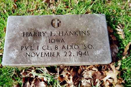 HANKINS, HARRY F. - Muscatine County, Iowa | HARRY F. HANKINS