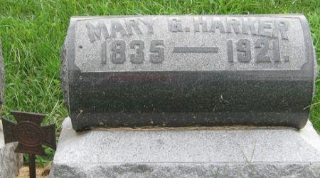HARKER, MARY G. - Muscatine County, Iowa | MARY G. HARKER