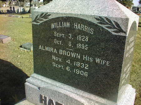 HARRIS, ALMIRA - Muscatine County, Iowa | ALMIRA HARRIS