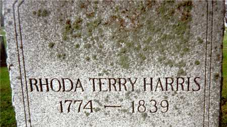 HARRIS, RHODA TERRY - Muscatine County, Iowa | RHODA TERRY HARRIS