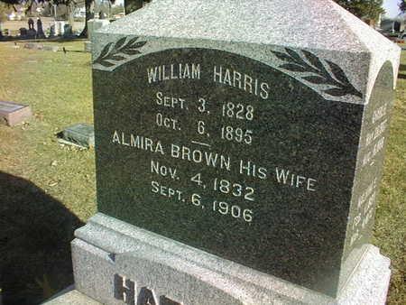 HARRIS, WILLIAM - Muscatine County, Iowa   WILLIAM HARRIS