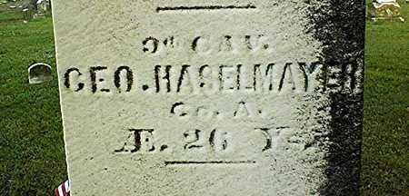 HASELMAYER, GEORGE - Muscatine County, Iowa | GEORGE HASELMAYER