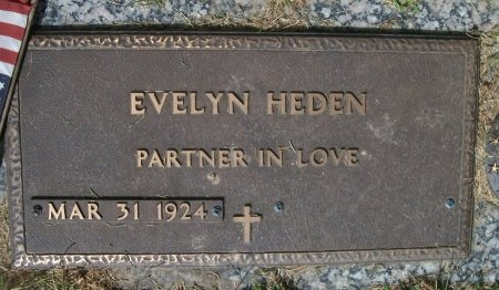 HEDEN, EVELYN MAXINE - Muscatine County, Iowa | EVELYN MAXINE HEDEN
