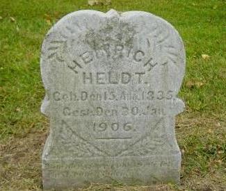 HELDT, HEINRICH - Muscatine County, Iowa | HEINRICH HELDT