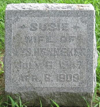 HENNEKER, SUSIE - Muscatine County, Iowa   SUSIE HENNEKER