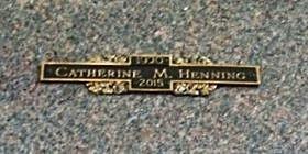 HENNING, CATHERINE M. - Muscatine County, Iowa | CATHERINE M. HENNING