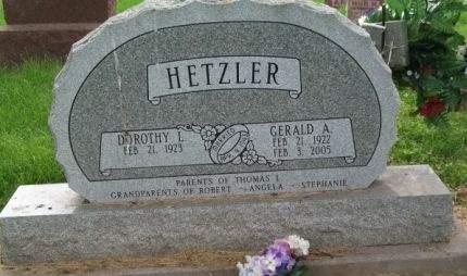 HETZLER, GERALD A. - Muscatine County, Iowa   GERALD A. HETZLER