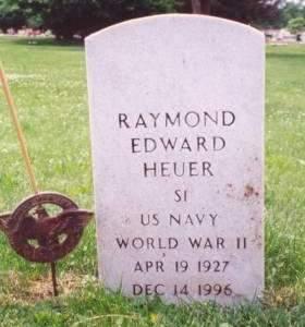 HEUER, RAYMOND EDWARD - Muscatine County, Iowa | RAYMOND EDWARD HEUER