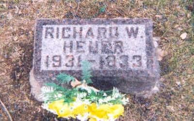 HEUER, RICHARD - Muscatine County, Iowa   RICHARD HEUER