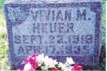 HEUER, VIVIAN M. - Muscatine County, Iowa | VIVIAN M. HEUER