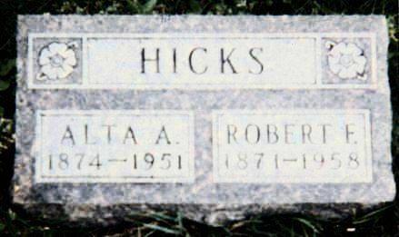 ALLUM HICKS, ALTA MAY - Muscatine County, Iowa | ALTA MAY ALLUM HICKS