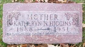 HIGGINS, KATHERYN N. - Muscatine County, Iowa | KATHERYN N. HIGGINS
