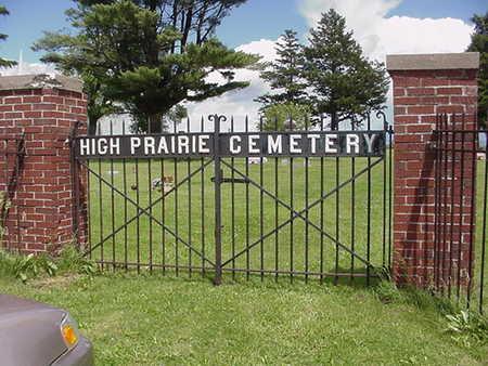 HIGH PRAIRIE, CEMETERY - Muscatine County, Iowa | CEMETERY HIGH PRAIRIE