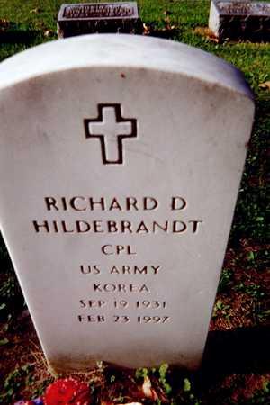 HILDEBRANDT, RICHARD D. - Muscatine County, Iowa | RICHARD D. HILDEBRANDT