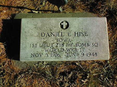 HISE, LT. DANIEL E. - Muscatine County, Iowa | LT. DANIEL E. HISE