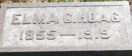 HOAG, ELMA C. - Muscatine County, Iowa | ELMA C. HOAG