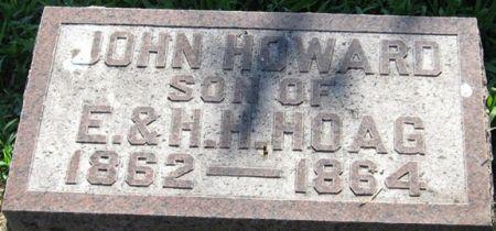 HOAG, JOHN HOWARD - Muscatine County, Iowa   JOHN HOWARD HOAG