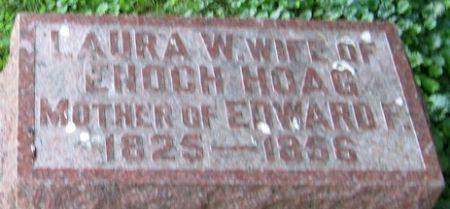 HOAG, LAURA W. - Muscatine County, Iowa | LAURA W. HOAG