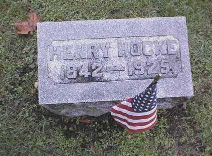 HOCKE, HENRY - Muscatine County, Iowa | HENRY HOCKE