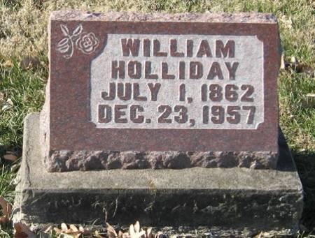 HOLLIDAY, WILLIAM - Muscatine County, Iowa | WILLIAM HOLLIDAY
