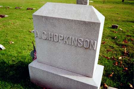 HOPKINSON, A.C. - Muscatine County, Iowa   A.C. HOPKINSON