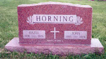 HORNING, JOHN - Muscatine County, Iowa | JOHN HORNING