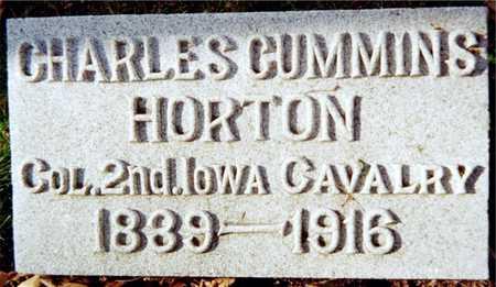 HORTON, COL. CHARLES C. - Muscatine County, Iowa | COL. CHARLES C. HORTON