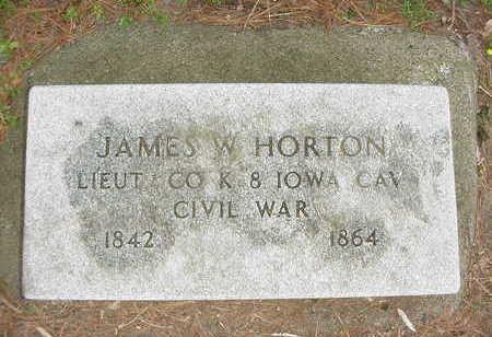 HORTON, JAMES - Muscatine County, Iowa | JAMES HORTON