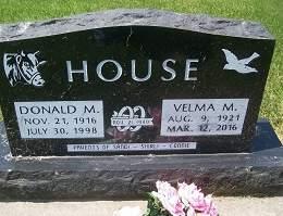 HOUSE, DONALD MESSENGER - Muscatine County, Iowa   DONALD MESSENGER HOUSE