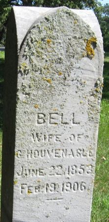 HOUVENAGLE, BELL - Muscatine County, Iowa   BELL HOUVENAGLE