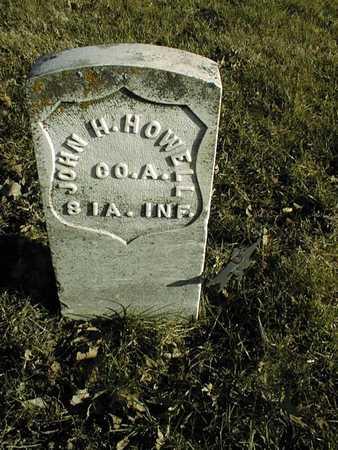 HOWELL, JOHN H. - Muscatine County, Iowa | JOHN H. HOWELL