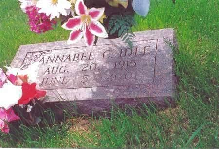 IDLE, ANNABEL C. - Muscatine County, Iowa | ANNABEL C. IDLE