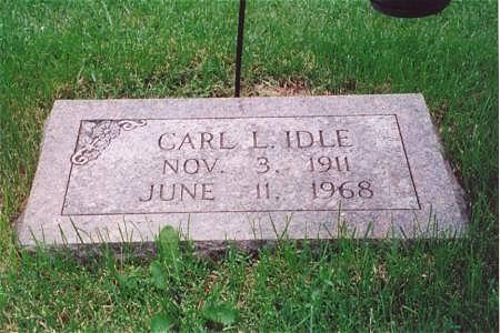 IDLE, CARL L. - Muscatine County, Iowa | CARL L. IDLE