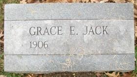 ELLIOTT JACK, GRACE ADALAIDE - Muscatine County, Iowa | GRACE ADALAIDE ELLIOTT JACK