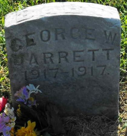 JARRETT, GEORGE W. - Muscatine County, Iowa   GEORGE W. JARRETT
