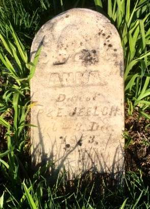 JEELCH, ANNA - Muscatine County, Iowa | ANNA JEELCH