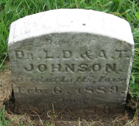JOHNSON, MAUDE - Muscatine County, Iowa | MAUDE JOHNSON