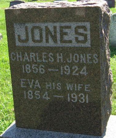 JONES, CHARLES H. - Muscatine County, Iowa   CHARLES H. JONES
