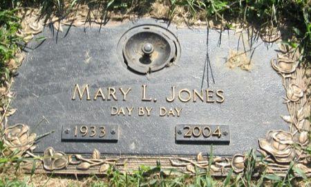 JONES, MARY L. - Muscatine County, Iowa | MARY L. JONES