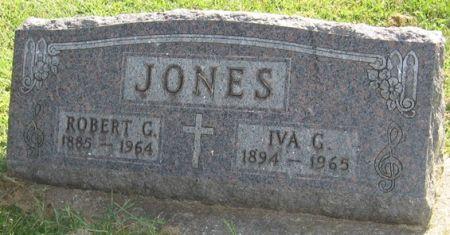 JONES, IVA G. - Muscatine County, Iowa   IVA G. JONES